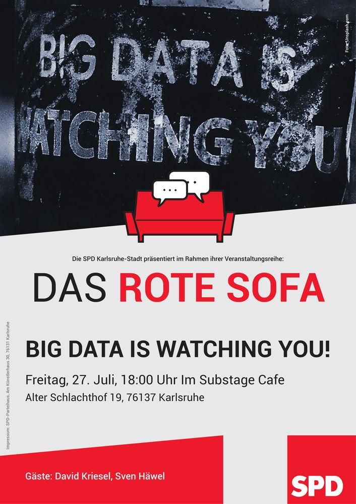 Rotes Sofa Spd Karlsruhe
